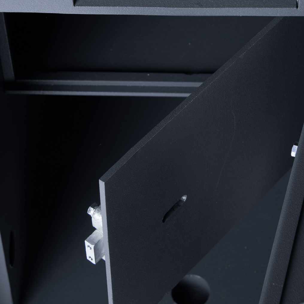 Lockable Compartment Optional Extra - Graded Safes - SMP Safes - Community Grade Safes - Internal Lockable Cabinet