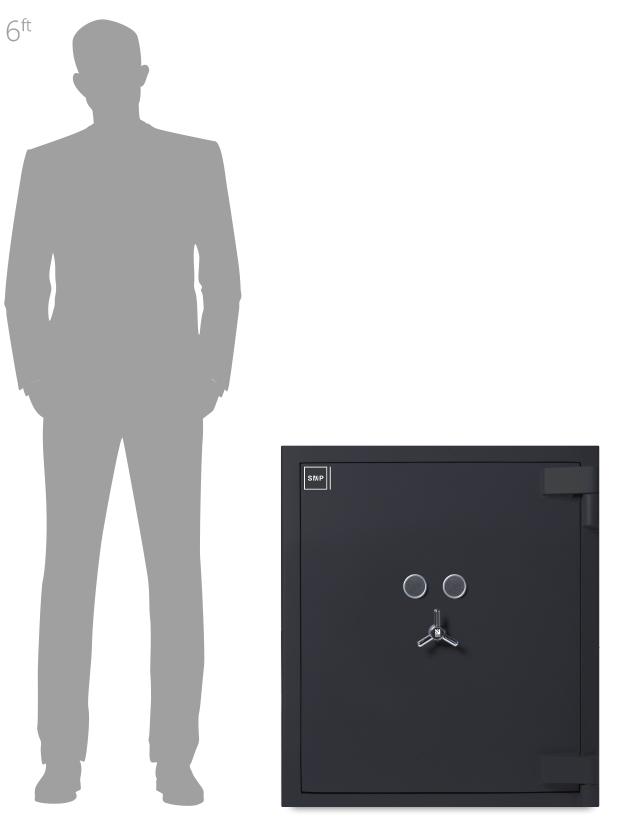 SMP Security Community Grade 4 Safe Size 2 - Cash Safes - Commercial Security - Business Safe