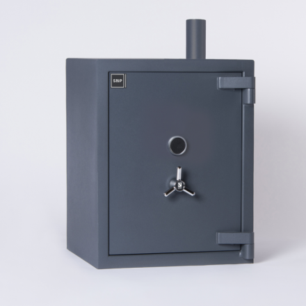 SMP Air Tube Deposit Safe Door Closed