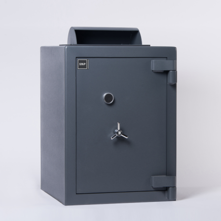 SMP Rotary Deposit Safe Door Closed