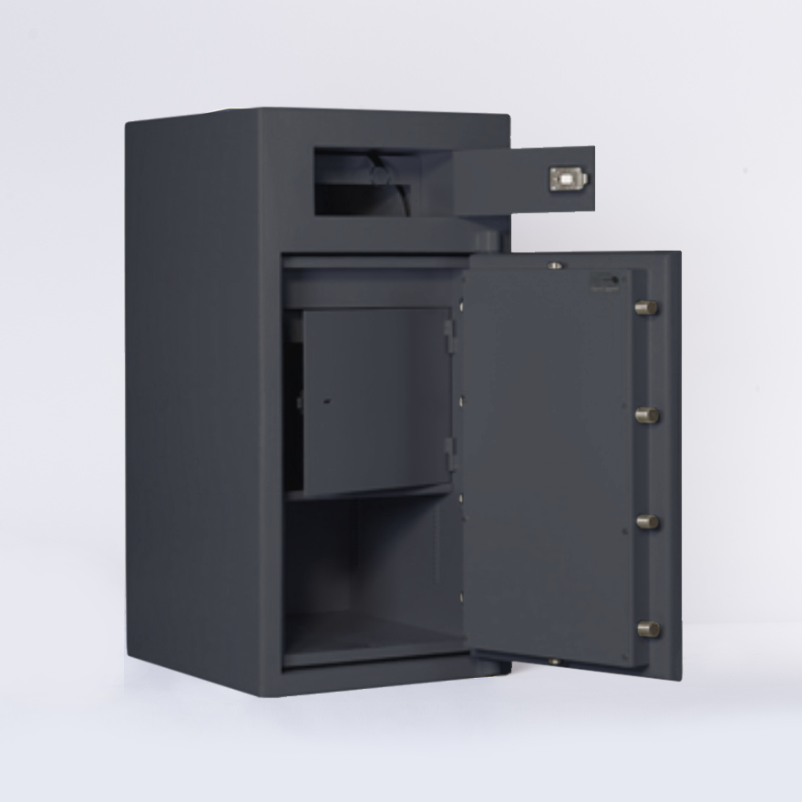 SMP Security - Rotunda Deposit Safe - Deposit Safe - Commercial Security - SMP Safes
