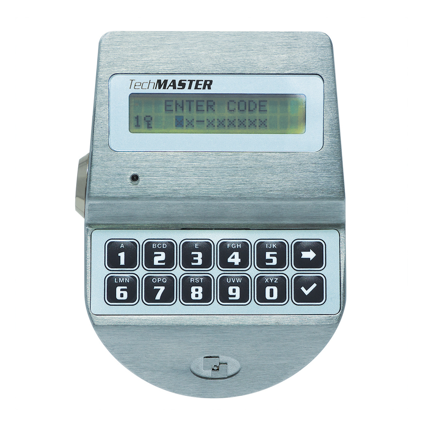 Safe Locks - Tecnosicurezza Techmaster Dallas Key - Front View