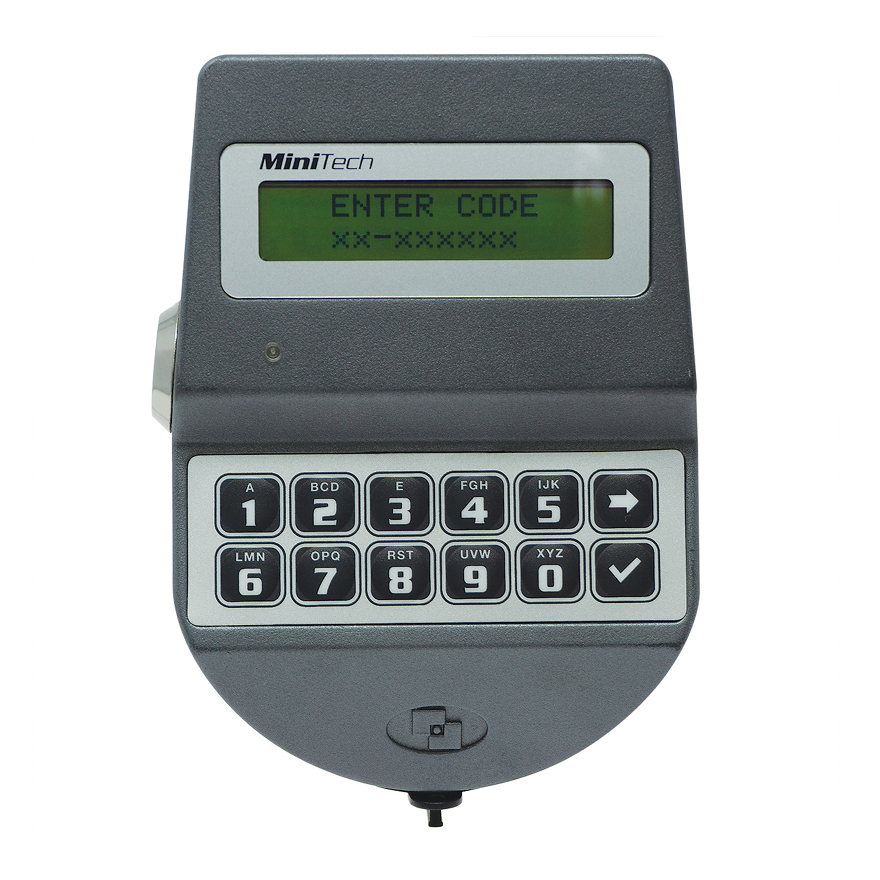 Tecnosicurezza MiniTech Dallas Key Front View - Safe Locks