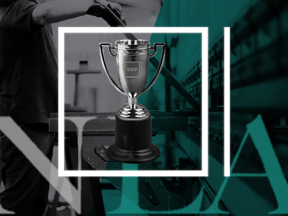 National Locksmith Awards - Safe Company of the Year 2019 - Winners Embossed Trophy